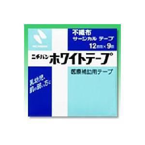 【ニチバン】 ニチバン ホワイトテープ 12mm×9m|medistock
