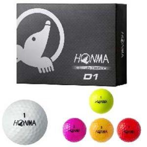 【HONMA D1 Golf Ball】 本間 D1 ゴルフボール 【1ダース(12球)】【日本正規品】