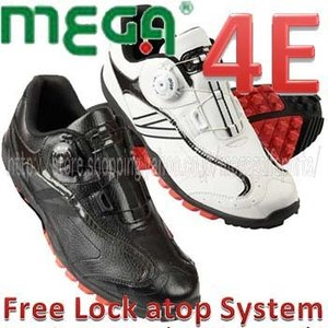 atop Free Lock System MEGA GOLF JAPAN Spikeless Go...