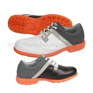 【MEGA GOLF Walking Spikeless Classic Golf Shoes】 メ...