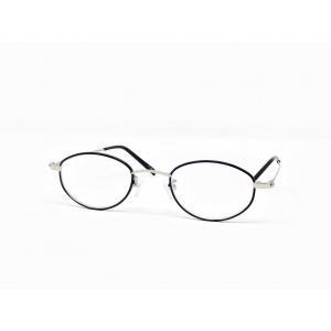 ブルーライトカットレンズ使用 ライブラリーコンパクト 老眼鏡 めがね工房ハトヤオリジナルメガネ拭き ケース セット ブラック メール便送料無料|meganenohato8