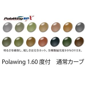 COMBEX PolawingSPX 1.60度付 通常カーブ 単焦点レンズ