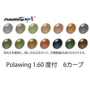 COMBEX PolawingSPX 1.60度付 6カーブ 単焦点レンズ meganenohirata
