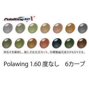 COMBEX PolawingSPX 1.60度なし 6カーブレンズ meganenohirata