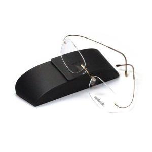 薄型レンズ付メガネセット  NewバージョンSilhouette MinimalArt TMA 5515/CR-7532(ゴールド)|meganenohirata