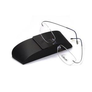 薄型レンズ付メガネセット  NewバージョンSilhouette MinimalArt TMA 5515/CU-4541(ムーンライトブルー)|meganenohirata