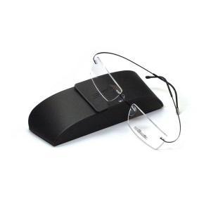 薄型レンズ付メガネセット  NewバージョンSilhouette MinimalArt TMA 5515/CL-9041(ジェットブラック)|meganenohirata