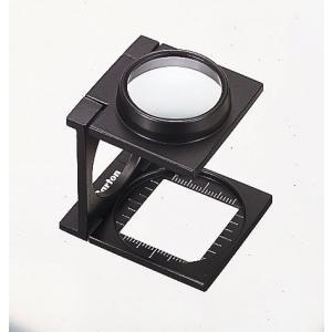 カートン 縞見ルーペ R403 目盛り20mm|meganeshop