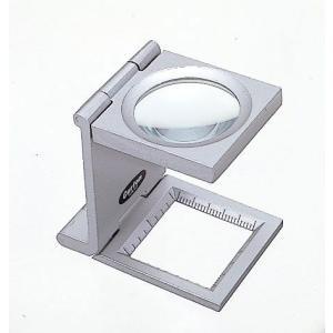 カートン 縞見ルーペ R413 目盛り25mm|meganeshop