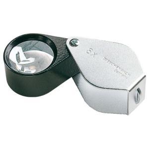 携帯型 精密検査用ルーペ エッシェンバッハ 精密繰り出しルーペ 10倍 レンズ径23mmφ精密無収差2枚構成レンズ meganeshop