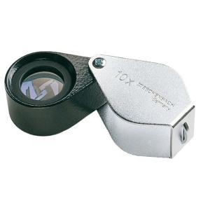 携帯型 精密検査用ルーペ エッシェンバッハ 精密繰り出しルーペ 10倍 レンズ径17mmφ精密無収差色収差補正レンズ meganeshop