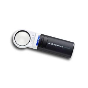 ルーペ LEDライト付きハンドルーペ エッシェンバッハ モビラックス 丸型7倍 レンズ径35mmφ|meganeshop