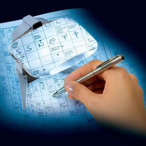 置き型ルーペ エッシェンバッハ スクリボラックス 書き込みが容易なLEDライト付きルーペ(156512)|meganeshop