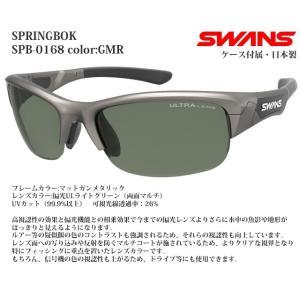 スポーツサングラス スワンズ SWANS SPRINGBOK SPB-0168 color:GMR|meganeshop