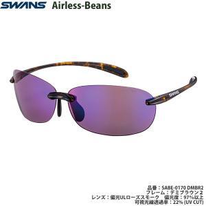 スポーツサングラス スワンズ SWANS Airless-Beans SABE-0170 color:DMBR2 偏光レンズ|meganeshop