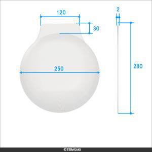 1.8倍 250mm【TERASAKI】テラサキ ビッグアイシリーズ共通 F丸型レンズ単品|meganeshop