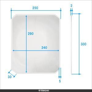 1.8倍 300×250mm【TERASAKI】テラサキ ビッグアイシリーズ共通 F角型レンズ単品|meganeshop