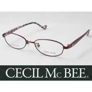 CECIL McBEE セシルマクビー メガネフレーム CMF-3009-3 メタルフレーム|meganezamurai