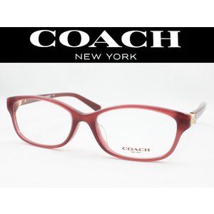 COACH コーチ メガネフレーム HC6092BD-5398 【国内正規品】 MILKY BLACK CHERRY meganezamurai