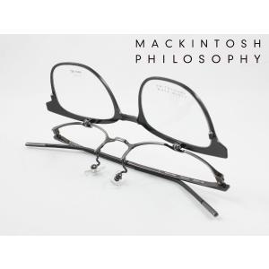 【跳ね上げ式】マッキントッシュフィロソフィー メガネフレーム MP-3004-3 度付き対応 近視 ...