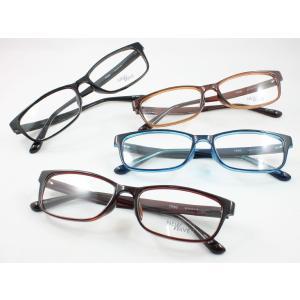軽量メガネ 薄型非球面レンズセット NW-6052 変形に強いTR-90 度付き対応 近視 遠視 老...
