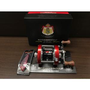 1台限定! 大特価! ABU×ディスプラウト×正影雅樹 アンバサダー5500CS ROCKET Apple Red|megaproductjp