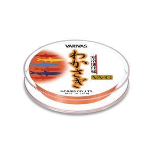 バリバス(VARIVAS) わかさぎVA-G 寒冷地仕様 オレンジ (0.4号,0.5号,0.6号,0.8号) megaproductjp