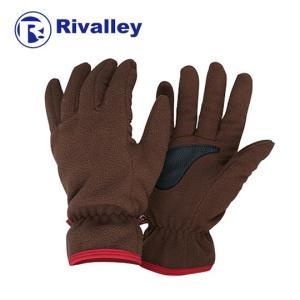 リバレイ(Rivalley) RL フリースグローブ No.6350 ブラウン M|megaproductjp