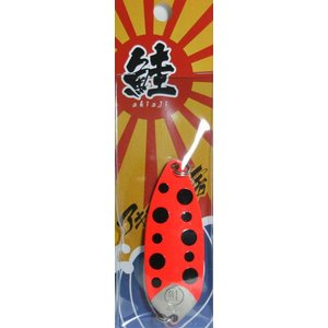 アキアジ工房 鮭マルスプーン45g #1 赤テントウ megaproductjp
