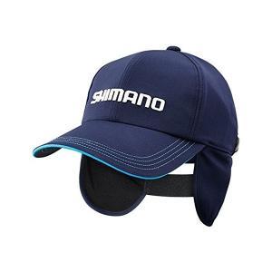 シマノ(SHIMANO) ベーシックサーマルキャップ CA-036N ネイビー F|megaproductjp