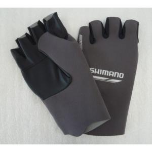 シマノ(SHIMANO) パールフィットEXSグローブ5(5本指出し)GL-092N グレーシルバー M|megaproductjp