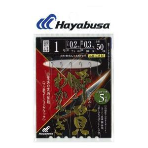 ハヤブサ(Hayabusa) 瞬貫わかさぎ 秋田キツネ 5本鈎 C216 0.8号、1号、1.5号|megaproductjp