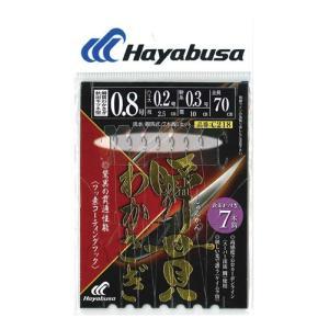 ハヤブサ(Hayabusa) 瞬貫わかさぎ 秋田キツネ 7本鈎 C218 0.8号、1号、1.5号|megaproductjp