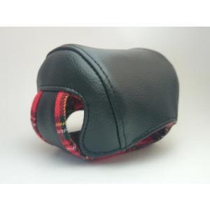 Couscous クスクス リールカバー5000 黒×赤タータン|megaproductjp