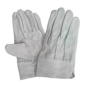 作業用皮手袋(牛床革手袋背縫い)皮手袋お買い得作業手袋