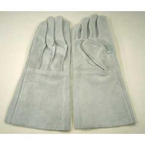 ●牛床革溶接5本指皮手袋!お買い得!溶接5本指革手袋
