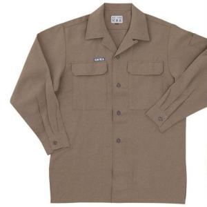 関東鳶 4200 OP 200 オープンシャツ 春 夏 素材 megawork