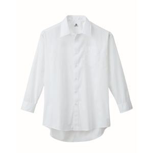 XEBEC15132 ジーベック スーツ 長袖ドレスシャツ 104〜138cm megawork