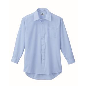 XEBEC15142 ジーベック スーツ 長袖ドレスシャツ 104〜138cm megawork