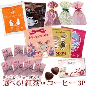 1000円ぽっきり カレルチャペック ティーバッグ ドリップコーヒー ありがとうチョコ ギフトセット 歓送迎会 お礼  お返し 会社 お菓子 猫 チョコ スイーツ