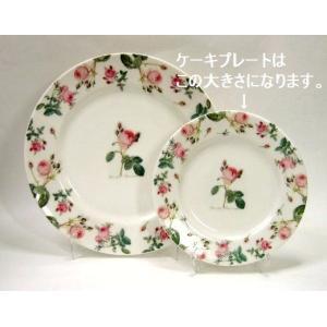 〜ルドゥーテシリーズ〜ケーキプレート  バラ 食器 薔薇雑貨|meggie