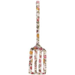 バラ キッチンユテンシル  四角ターナー 【クラシカルローズ】 フライ返し メラミン樹脂 内祝い 新築祝い|meggie
