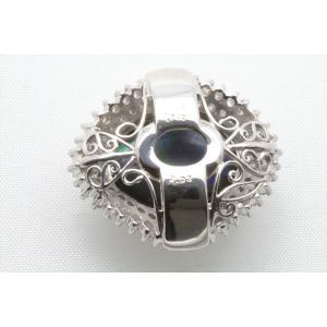 大粒 ブラックオパール 7.780ct ダイヤモンドペンダント PT900 新品 レディース|megumi-1|07