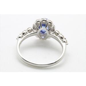 ブルーサファイア ダイヤモンドリング PT900 新品 レディース|megumi-1|08