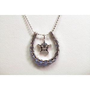 ブルーサファイア ダイヤモンドペンダント3WAY K18WG|megumi-1|06