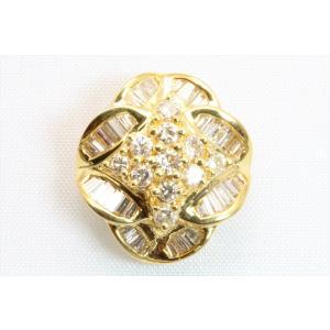 上質 ダイヤモンド 0.80ctペンダント K18 新品 レディース|megumi-1