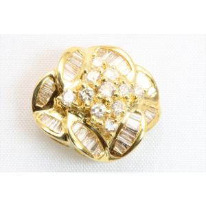 上質 ダイヤモンド 0.80ctペンダント K18 新品 レディース|megumi-1|02