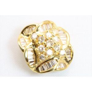 上質 ダイヤモンド 0.80ctペンダント K18 新品 レディース|megumi-1|08
