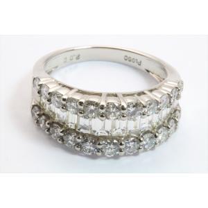 上質ダイヤモンド2.00ctリングPT950 megumi-1 02