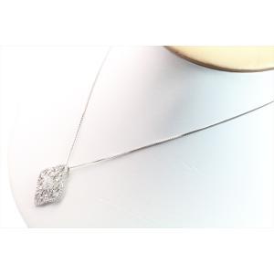 上質ダイヤモンドネックレス K18WG|megumi-1|04